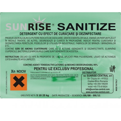 Sunrise Sanitize
